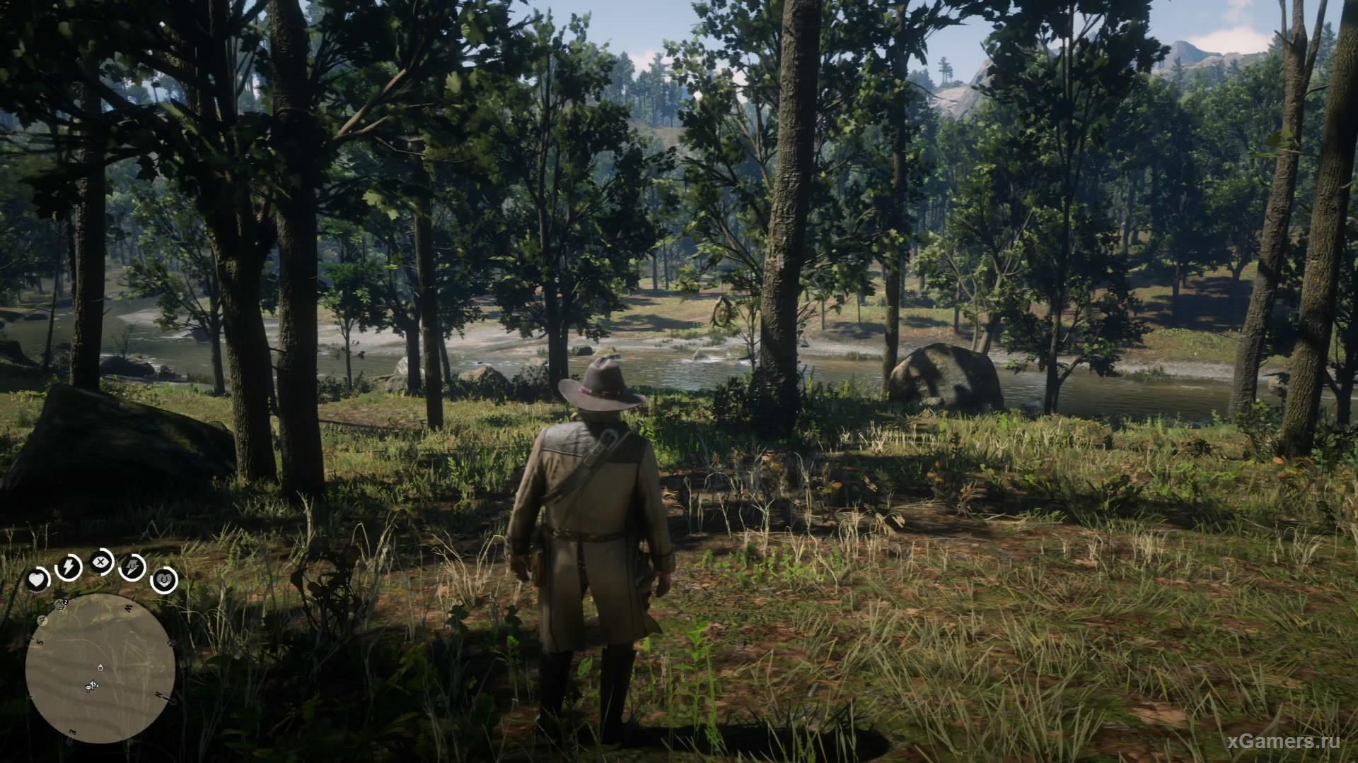 Второй ловец находится в северо-западном направлении от первого