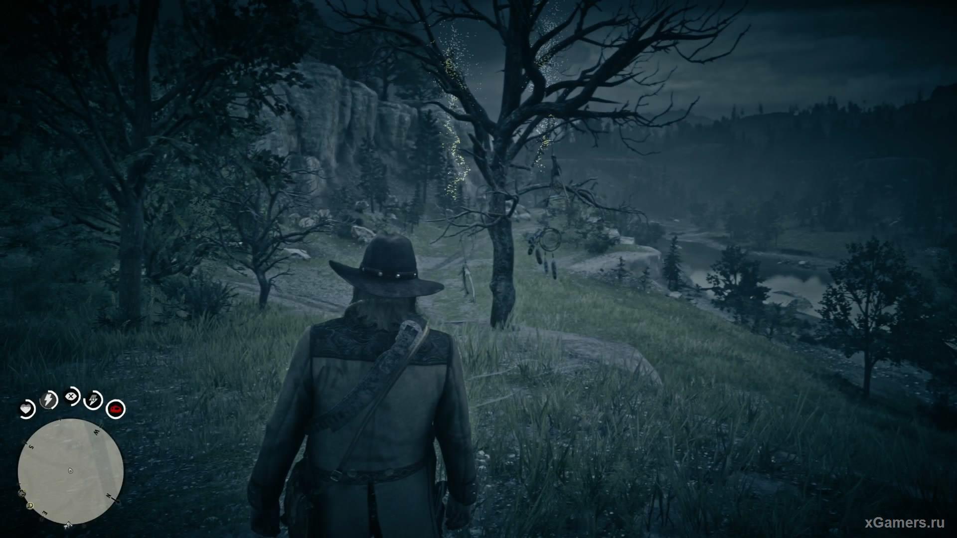 Четырнадцатый ловец находится на западе от Heartlands