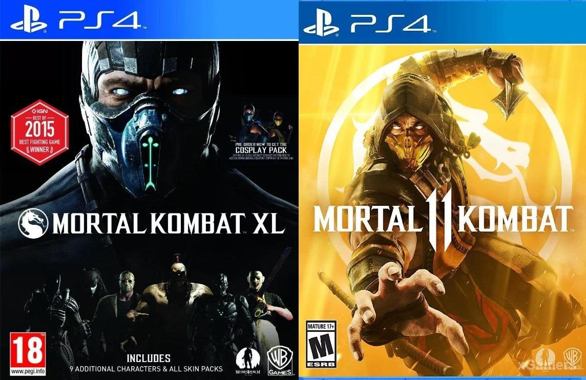 MORTAL KOMBAT XL и MORTAL KOMBAT 11