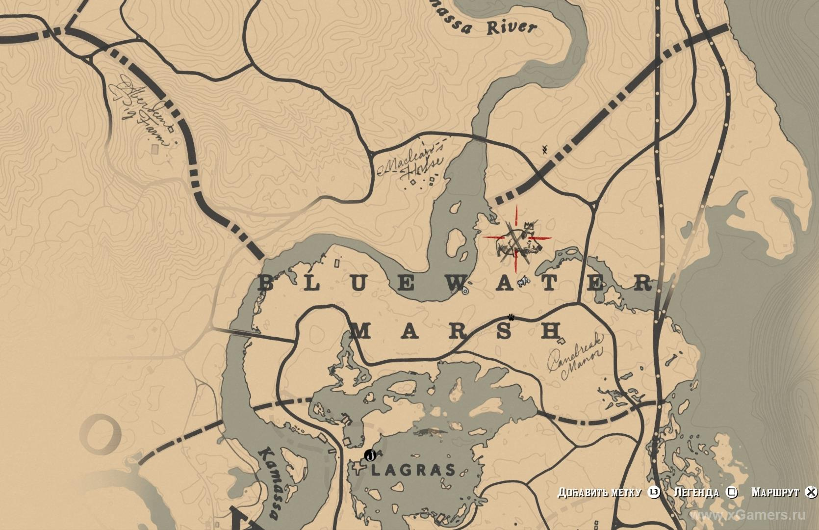 Местообитания легендарного кабана