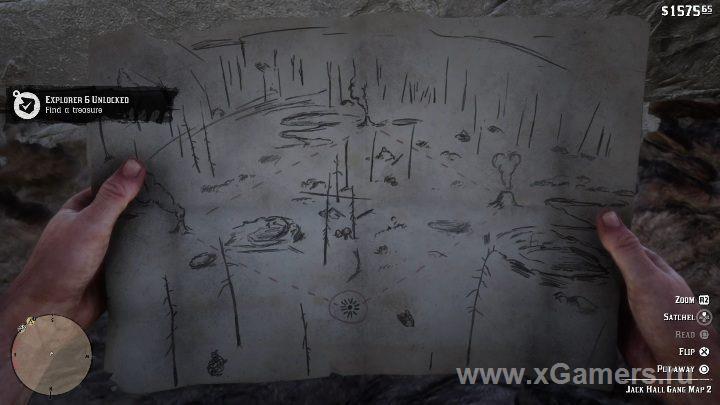 Вторая часть карты сокровищ, которая укажет где хранится третья часть